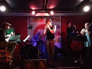 Pianos Release show